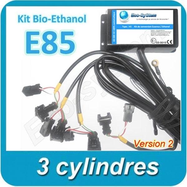 kit ethanol boitier e85 haute qualit flexfuel 3 cyl v2. Black Bedroom Furniture Sets. Home Design Ideas