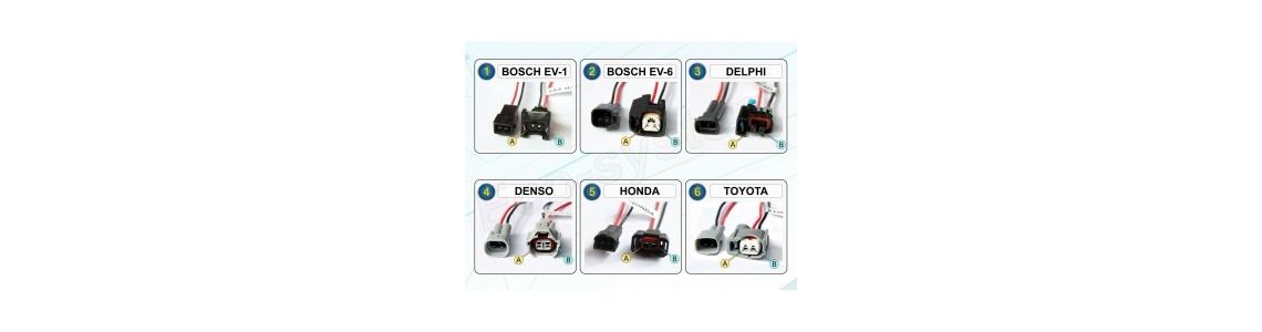 Connectiques kit E85